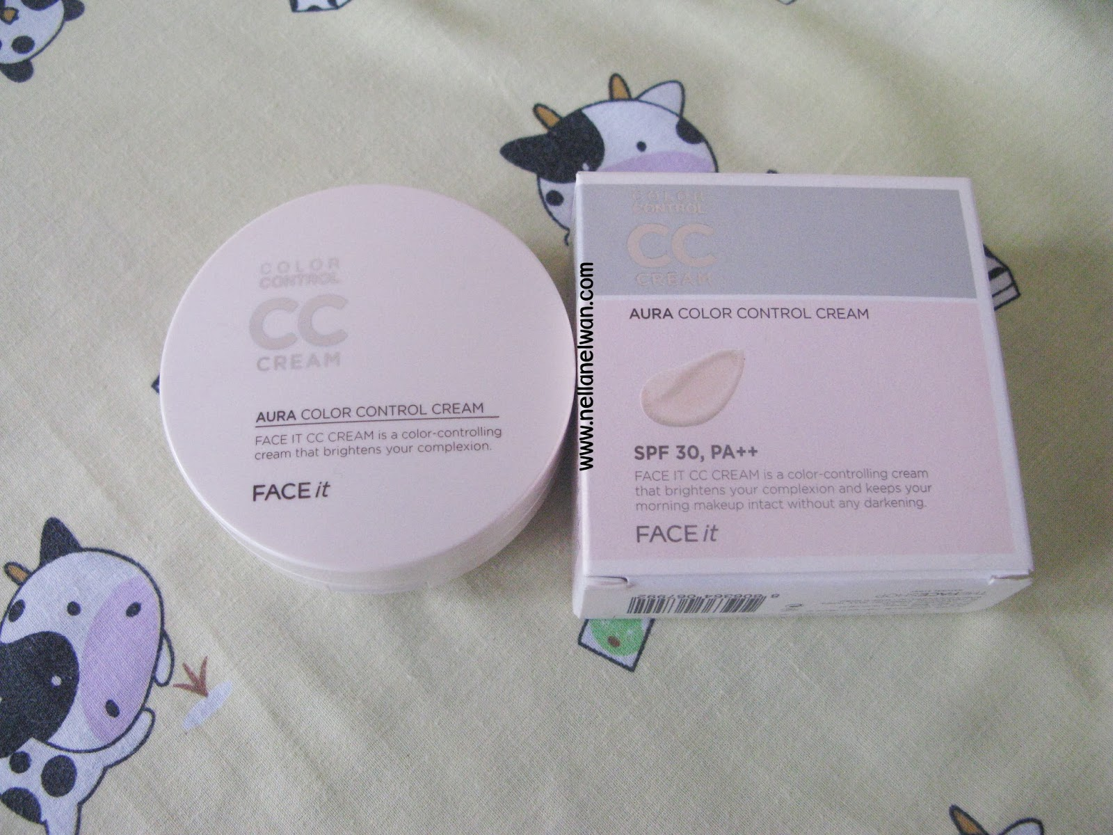 Bao bì Face It Aura CC Cream