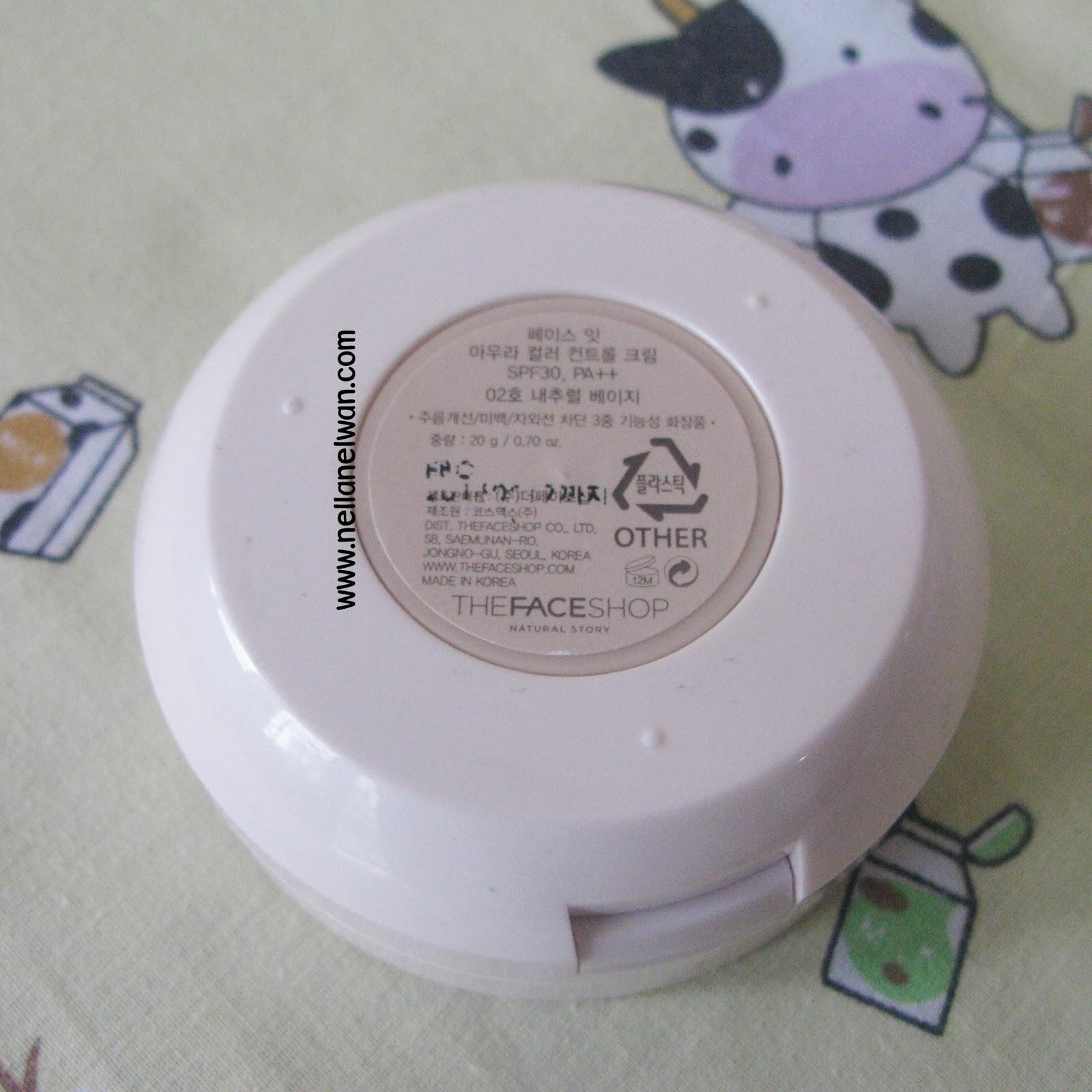 Hộp sản phẩm Face Shop CC Cream