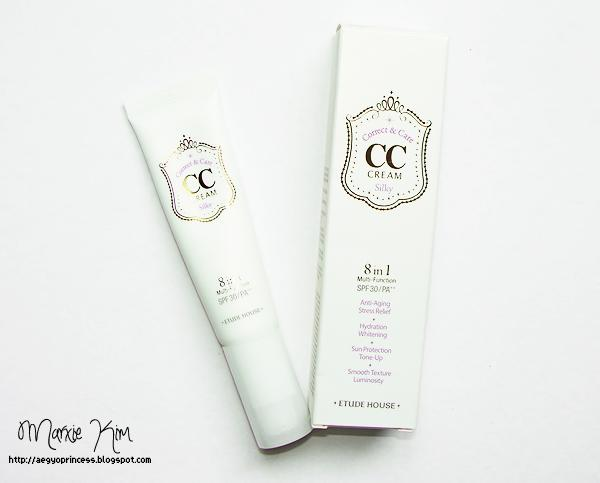 Etude House CC Cream Silky