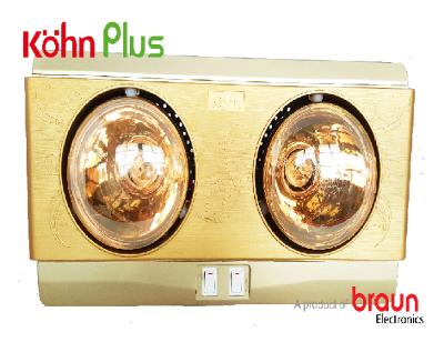 Đèn sưởi nhà tắm Kohn Plus KN02G
