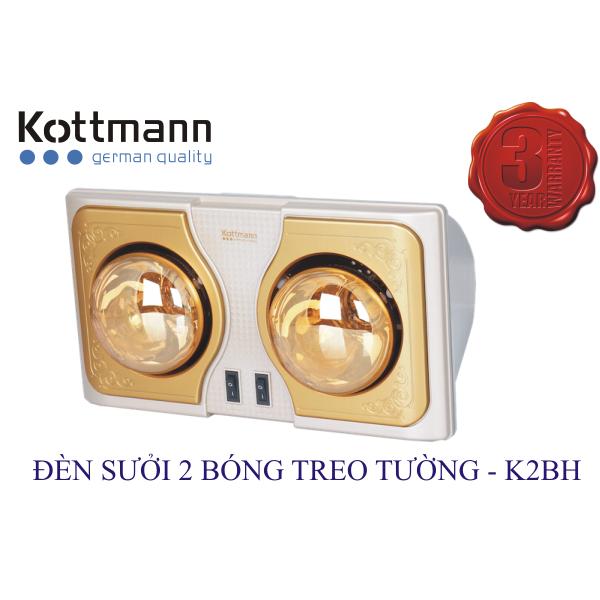 Đèn sưởi Kotttmann 2 bóng