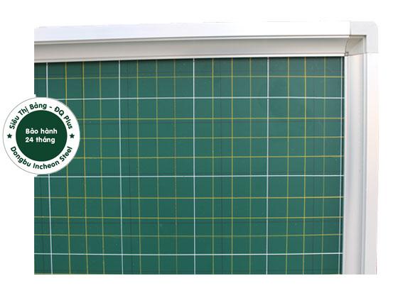 Bảng từ xanh Hàn Quốc kẻ ô ly tiểu học khung Phào ĐQ16