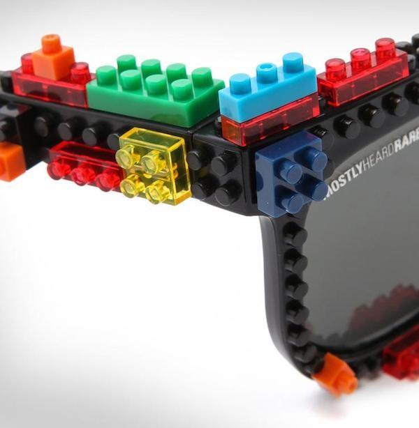 kính mắt từ lego 1