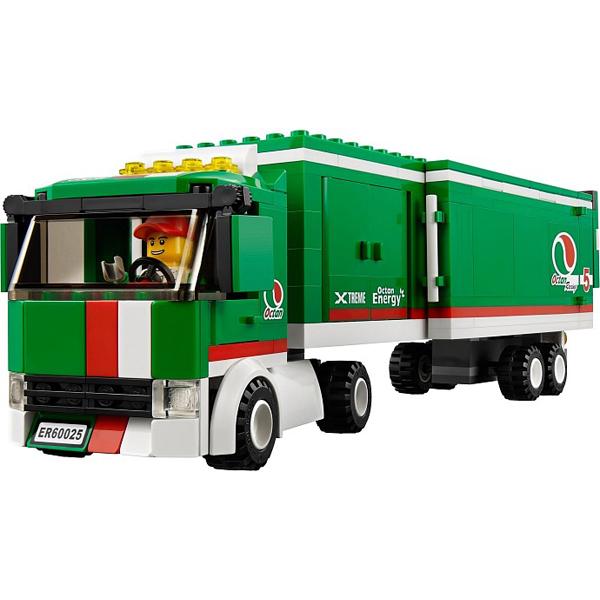 xe tải đội đua