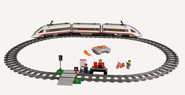 Đồ chơi LEGO 60051 - Xe Lửa Siêu Tốc