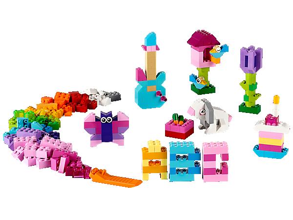 Đồ chơi lego 10694 - Hộp gạch classic sáng tạo (màu sáng)