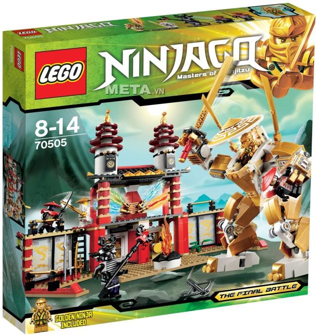 Đồ chơi LEGO 70727 - Xe Hơi Chiến Đấu Của Kai