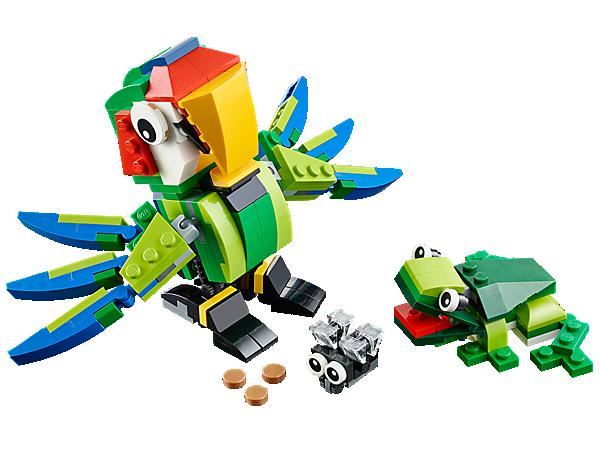 Đồ chơi lego 31031 - Động vật rừng nhiệu đới