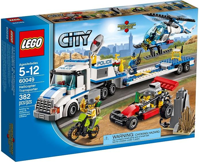 Đồ chơi LEGO City 60049 - Vận chuyển trực thăng