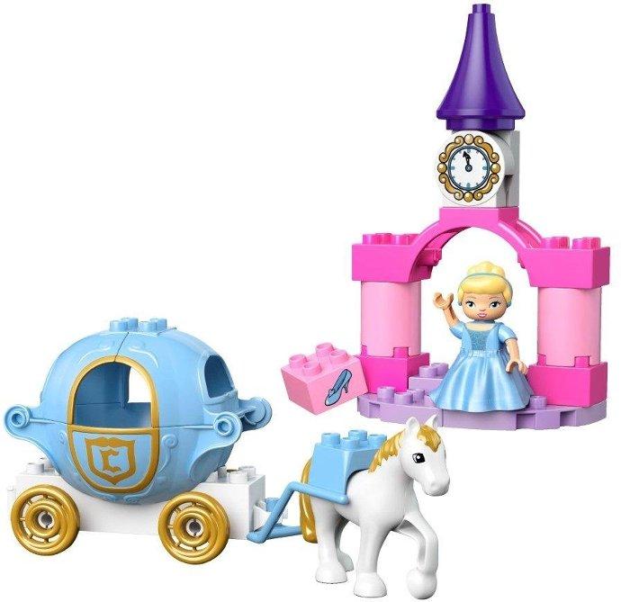 Đồ chơi xếp hình Lego Duplo 6153 - Xe ngựa của lọ lem