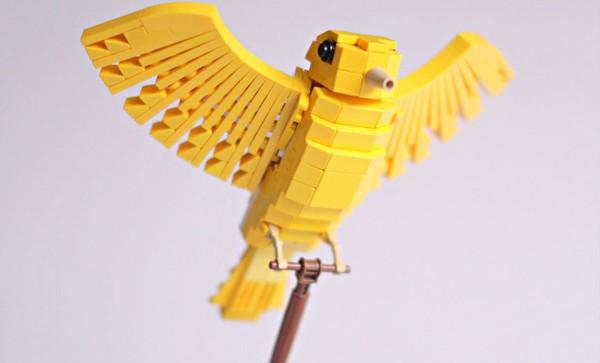 Chiêm ngưỡng những chú chim theo phong cách LEGO sáng tạo và đẹp mắt 12