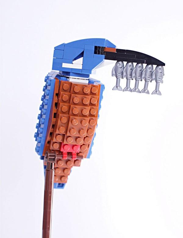 Chiêm ngưỡng những chú chim theo phong cách LEGO sáng tạo và đẹp mắt 13