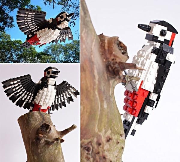 Chiêm ngưỡng những chú chim theo phong cách LEGO sáng tạo và đẹp mắt 14