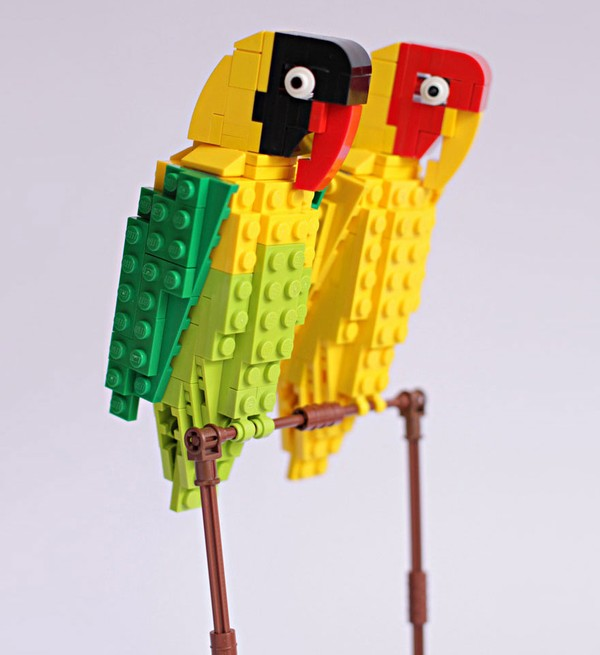 Chiêm ngưỡng những chú chim theo phong cách LEGO sáng tạo và đẹp mắt 15
