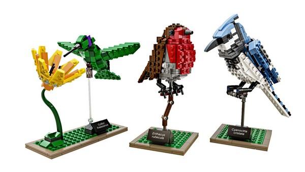Chiêm ngưỡng những chú chim theo phong cách LEGO sáng tạo và đẹp mắt 2