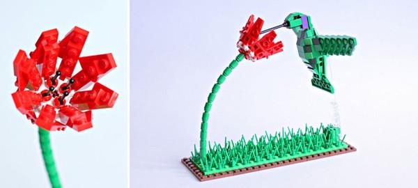 Chiêm ngưỡng những chú chim theo phong cách LEGO sáng tạo và đẹp mắt 16