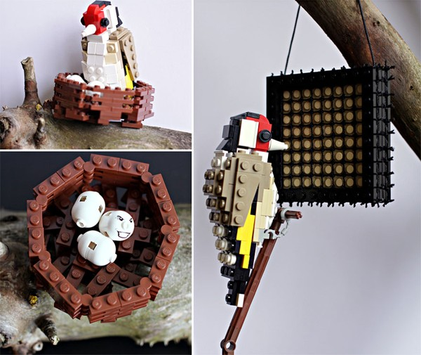 Chiêm ngưỡng những chú chim theo phong cách LEGO sáng tạo và đẹp mắt 18