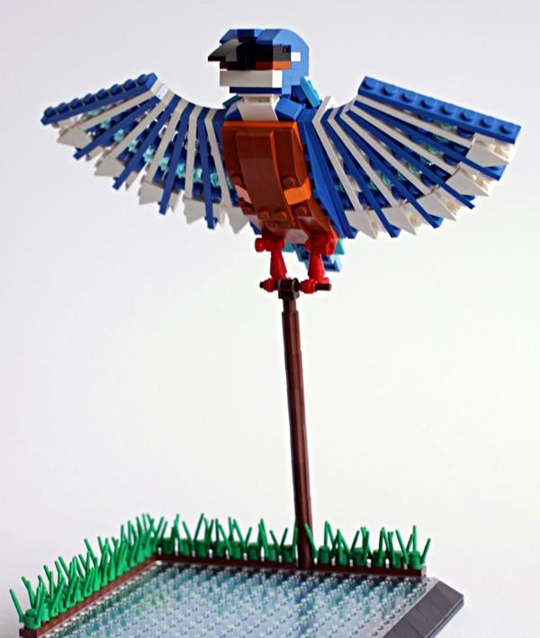Chiêm ngưỡng những chú chim theo phong cách LEGO sáng tạo và đẹp mắt 3