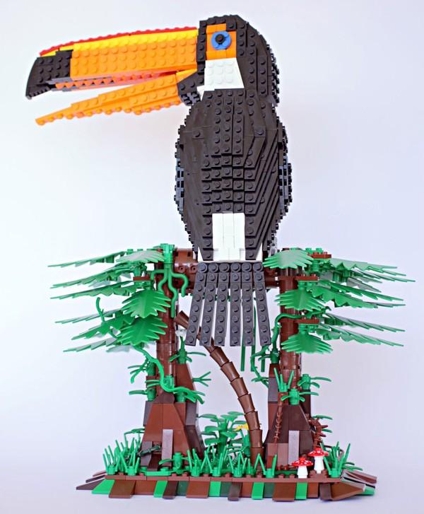 Chiêm ngưỡng những chú chim theo phong cách LEGO sáng tạo và đẹp mắt 5