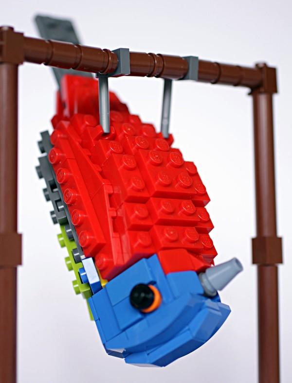 Chiêm ngưỡng những chú chim theo phong cách LEGO sáng tạo và đẹp mắt 6