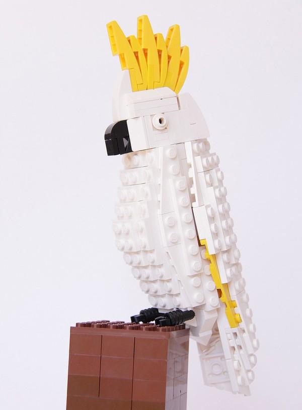 Chiêm ngưỡng những chú chim theo phong cách LEGO sáng tạo và đẹp mắt 7