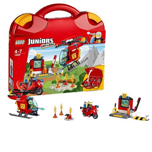 Đồ chơi Lego Juniors 10685 - Vali cứu hỏa
