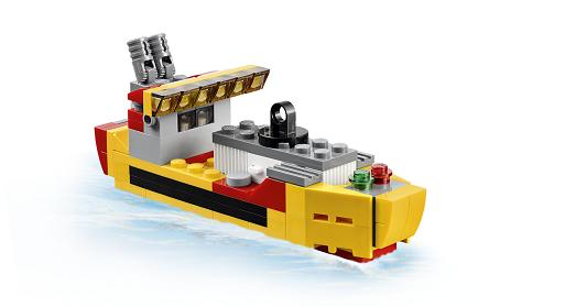 Đồ chơi lego creator 31029 - Trực thăng vận tải