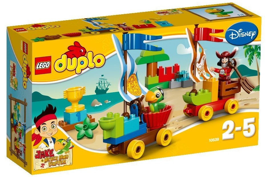 Đồ chơi LEGO Duplo 10539 - Cuộc đua bãi biển
