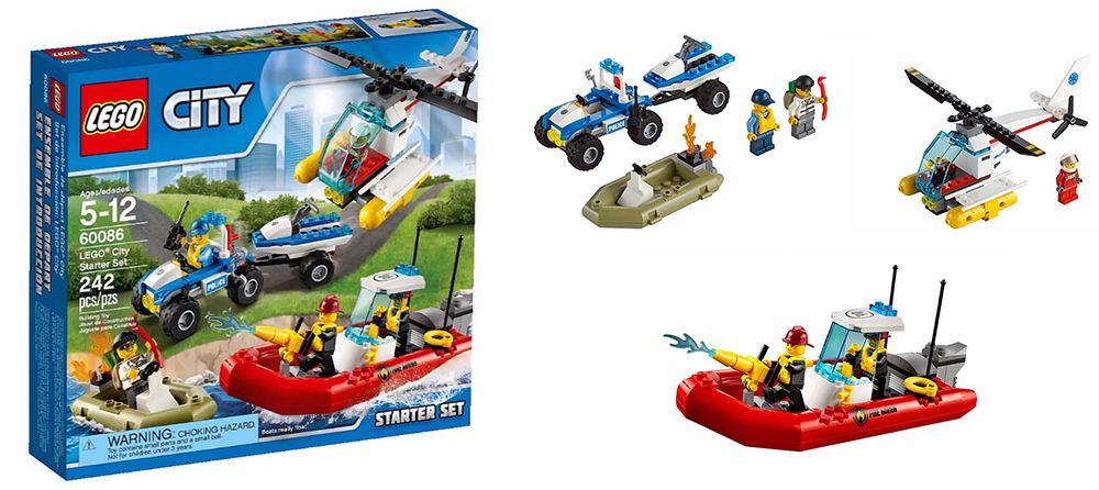 Mô Hình LEGO City - Bộ Khởi Đầu 60086