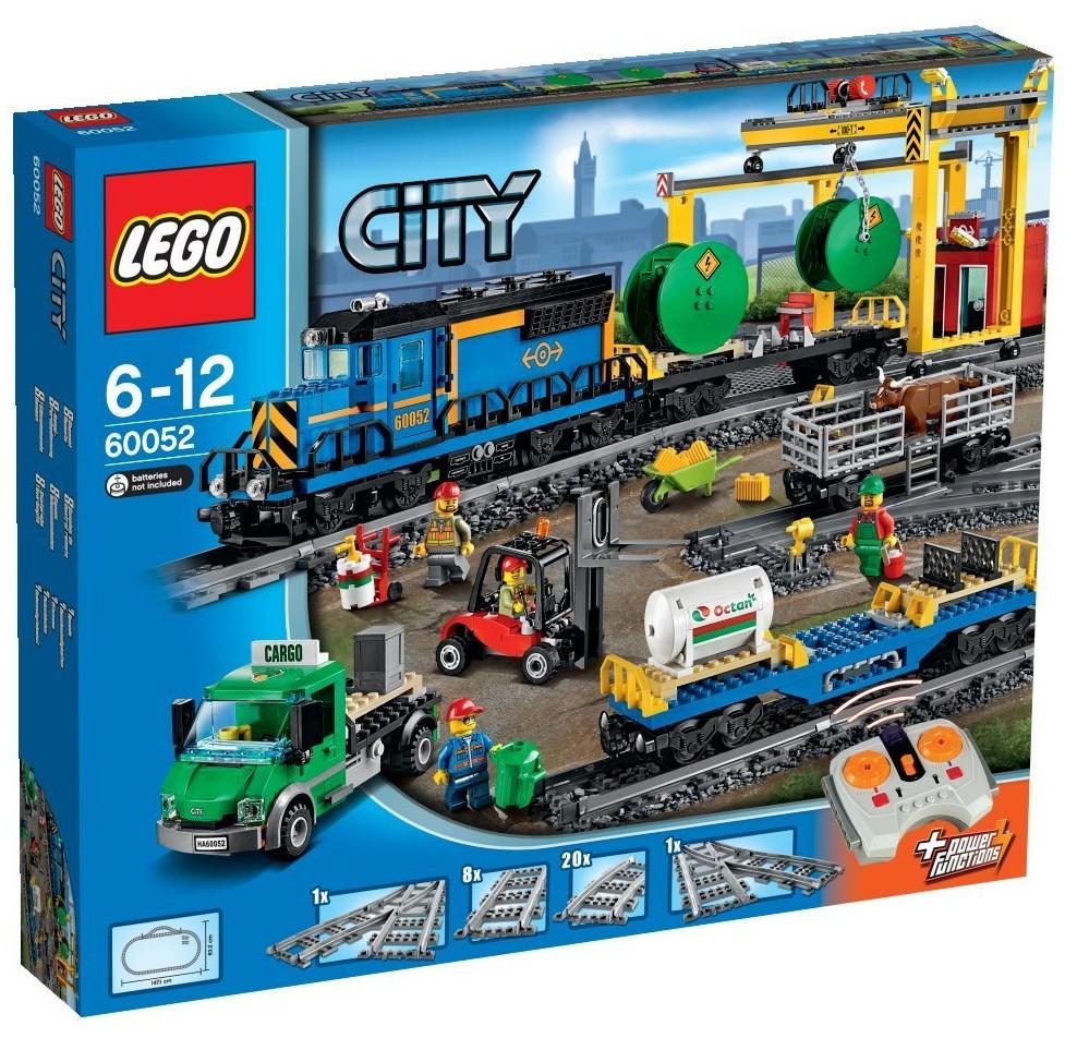 Đồ chơi LEGO City 60052 - Xe Lửa Vận Tải