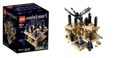 đồ chơi LEGO 21107 - Thế Giới Minecraft