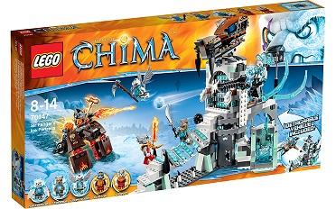 Đồ chơi LEGO 70147 - Rừng Băng Của Lãnh Chúa Fangar