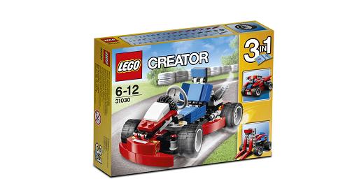 Đồ chơi lego creator 31030 - Xe đua mini đỏ