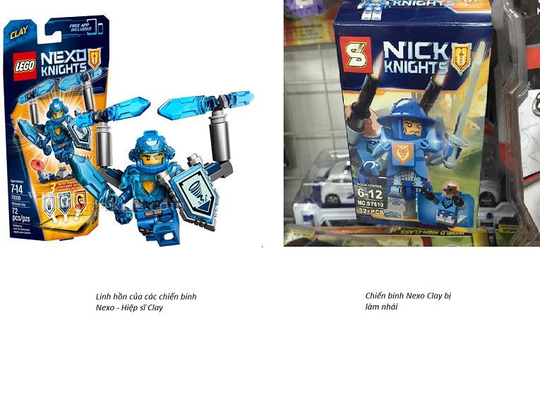 Phân biệt Lego thật giả