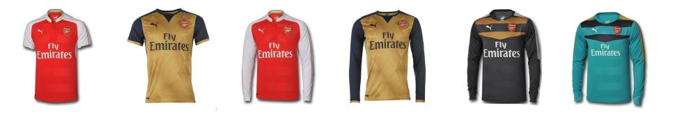 Ao bong da Arsenal 2015-2016