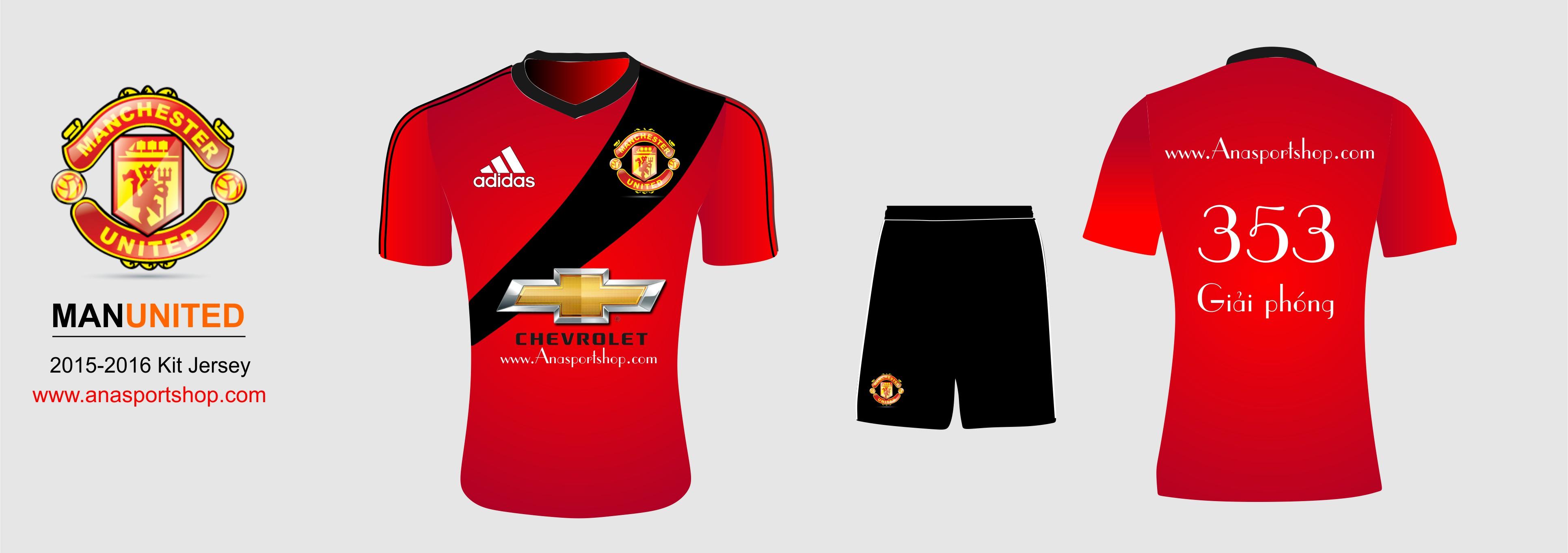 Áo bóng đá Manchester united 2016-2017