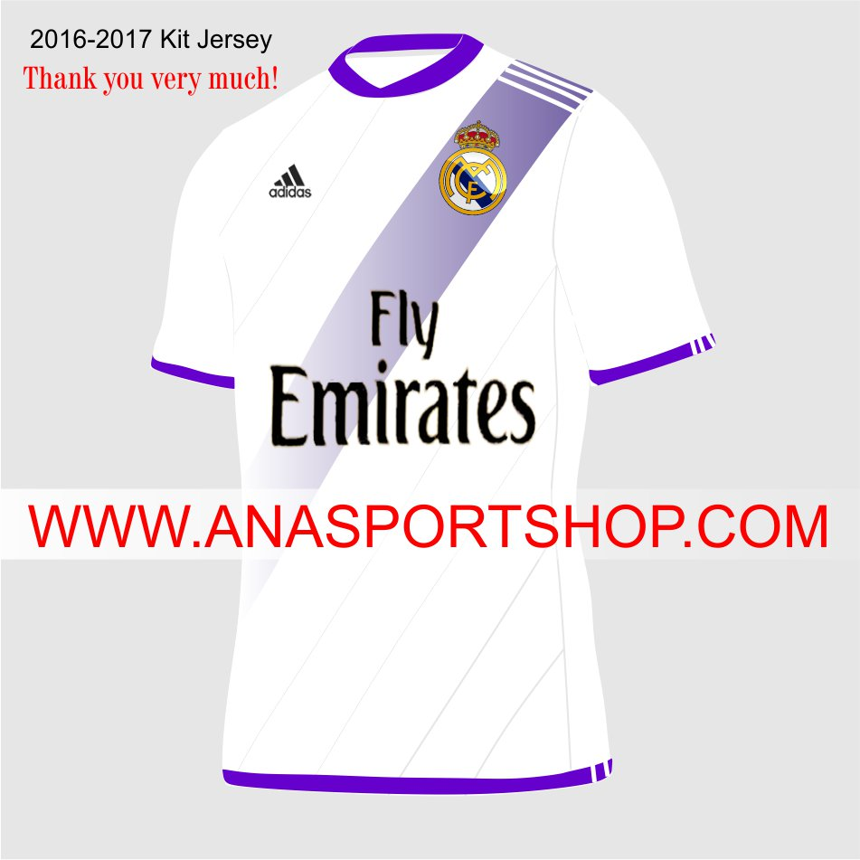Ao bong da 2016-2017 Real Madrid
