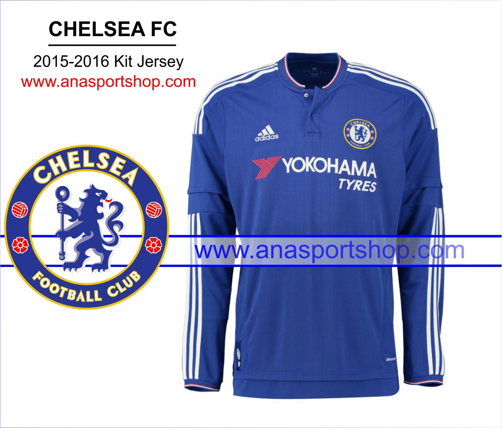 Ao bong da dai tay Chelsea 2015-2016