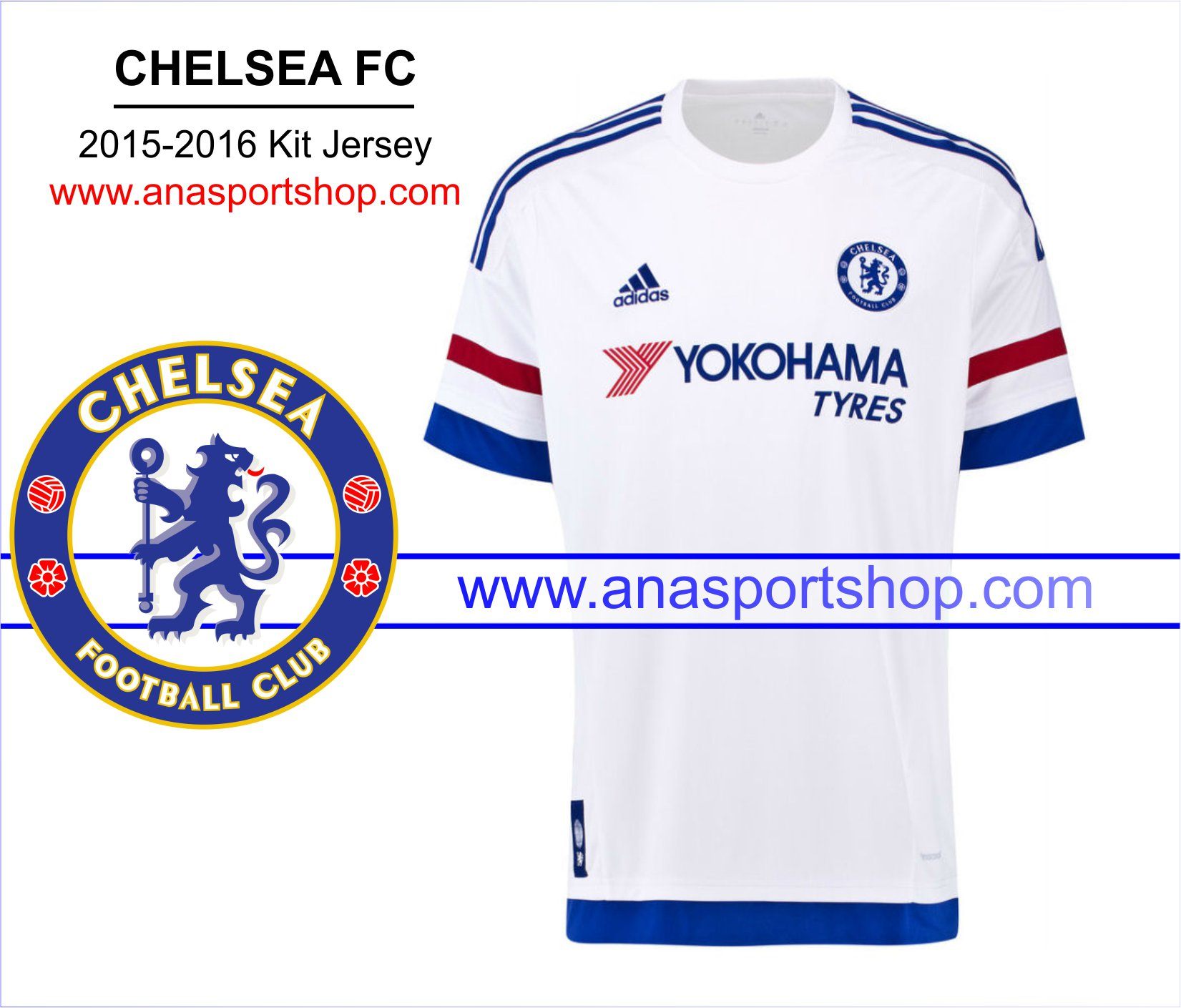 Ao bong da Chelsea 2015-2016 san khach