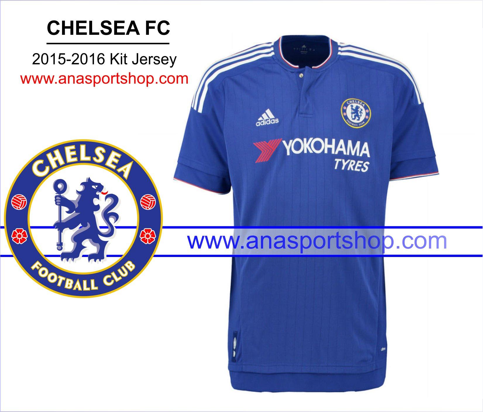 Ao bong da Chelsea 2015-2016 san nha