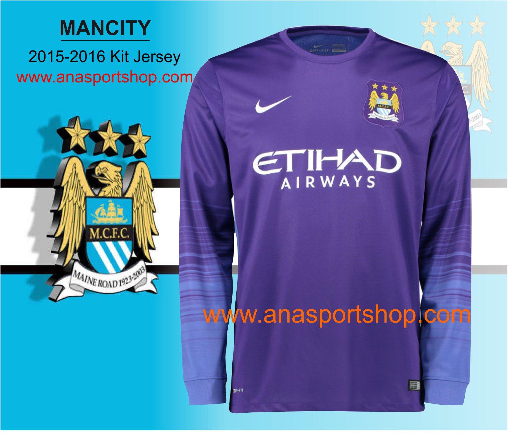 Ao bong da dai tay Manchester City 2015-2016 san khach den