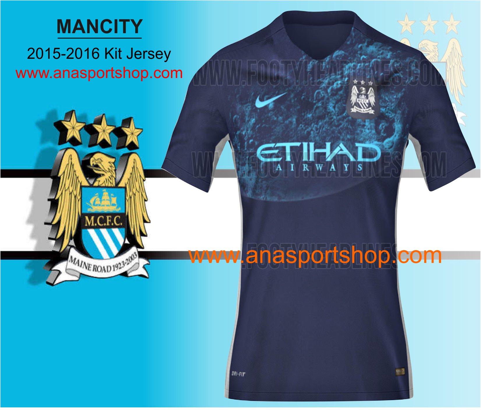 Ao bong da Manchester City 2015-2016 san khach den