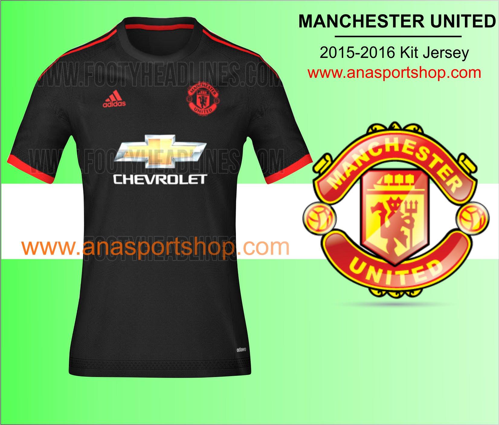 Ao bong da Manchester united 2015-2016 den