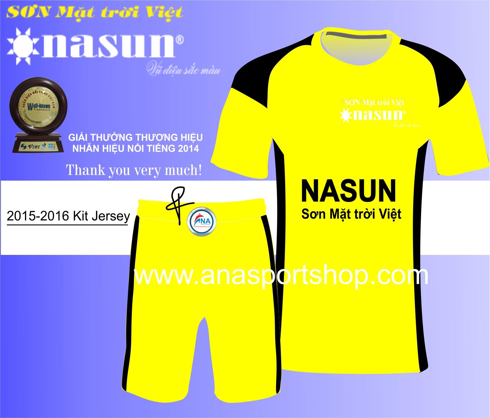 Ao bong da thiet ke Nasun