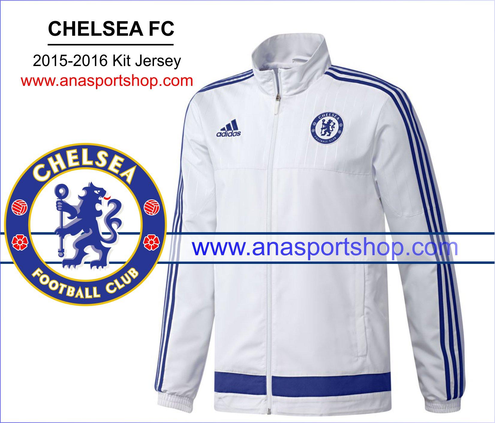 Áo khoác nỉ Chelsea 2015-2016