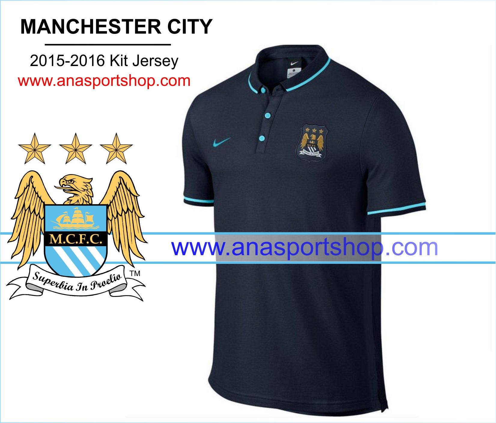 Ao Polo Manchester City 2015-2016 den