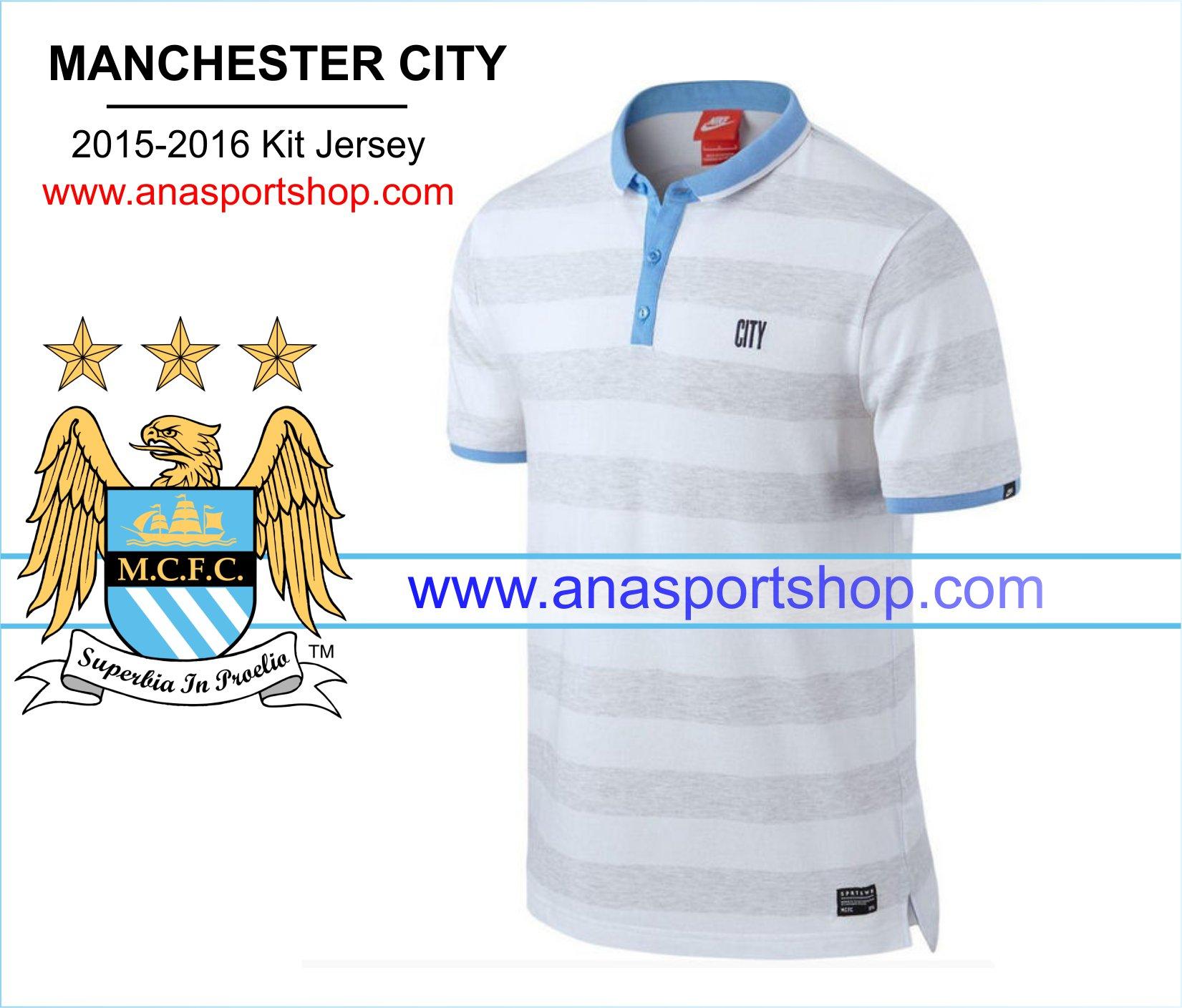 Ao Polo Manchester City 2015-2016 ke ngang