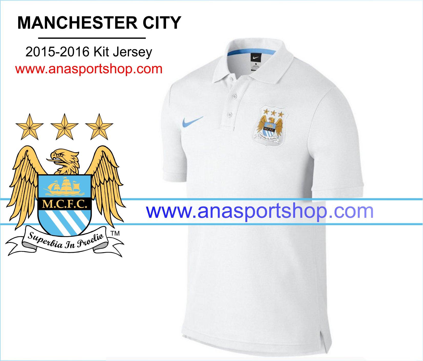 Ao Polo Manchester City 2015-2016 trang