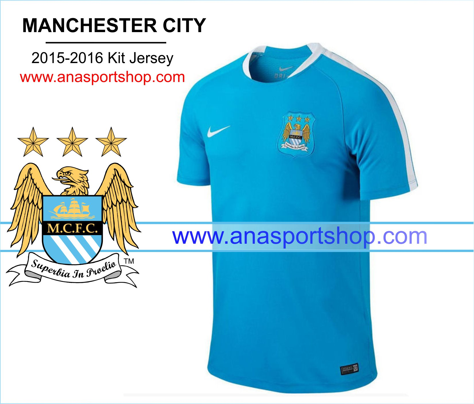 Ao Training Manchester City 2015-2016 xanh