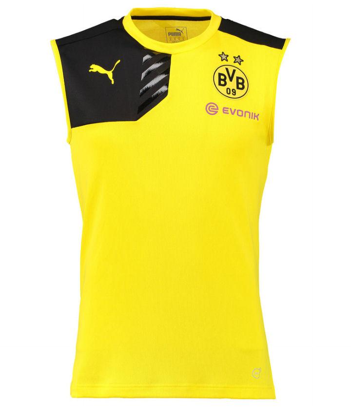 Ao ba lo bong da Dortmund 2015-2016 vang den
